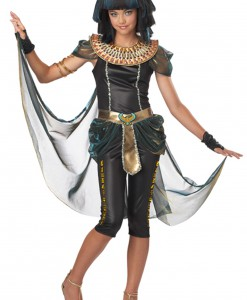 Tween Dark Egyptian Princess Costume