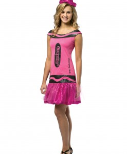 Teen Crayola Blush Glitz Dress