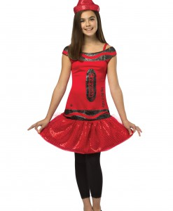 Tween Crayola Ruby Glitz Dress