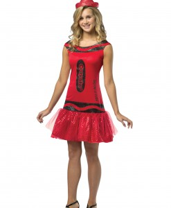 Teen Crayola Ruby Glitz Dress