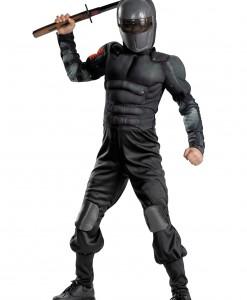 Kids Snake Eyes Muscle Costume
