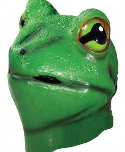 Deluxe Latex Frog Mask