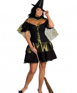 Plus Size Wicked Witch of the West Costume