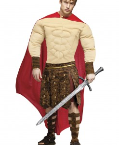 Muscle Chest Gladiator Costume