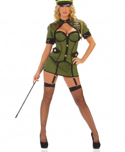 Womens Army General Costume