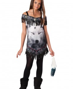 Tween Indian Tribal Spirit Costume