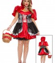 Plus Size Women's Fiery Lil' Red Costume