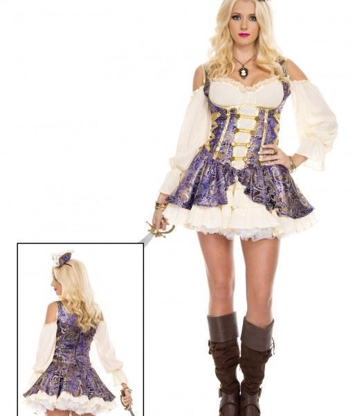 Renaissance Medieval Pirate Wench Costume