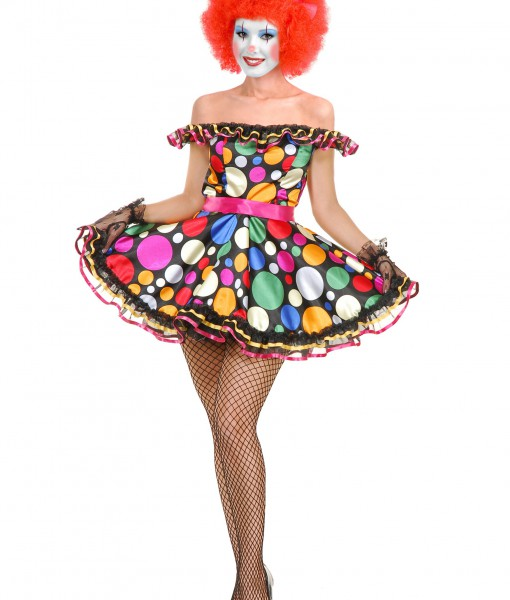 Womens Just Clownin Costume