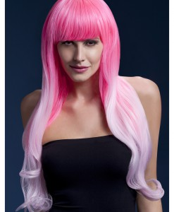 Styleable Fever Emily Pink Two Tone Wig