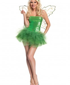 Sexy Sequins Fairy Costume