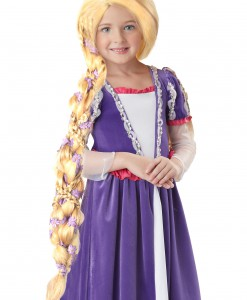Rapunzel Wig with Flowers