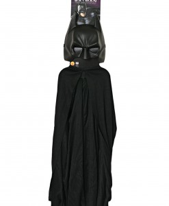 Kids Batman Mask and Cape