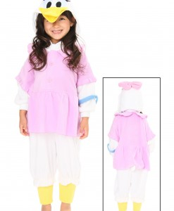 Kids Daisy Duck Pajama Costume