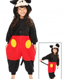 Kids Mickey Mouse Pajama Costume