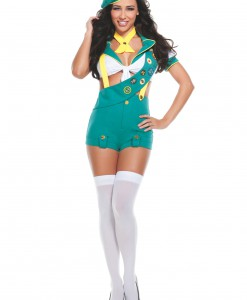 Women's Camp Fire Cutie Costume