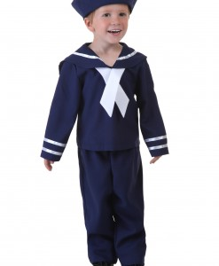 Toddler Blue Sailor Costume