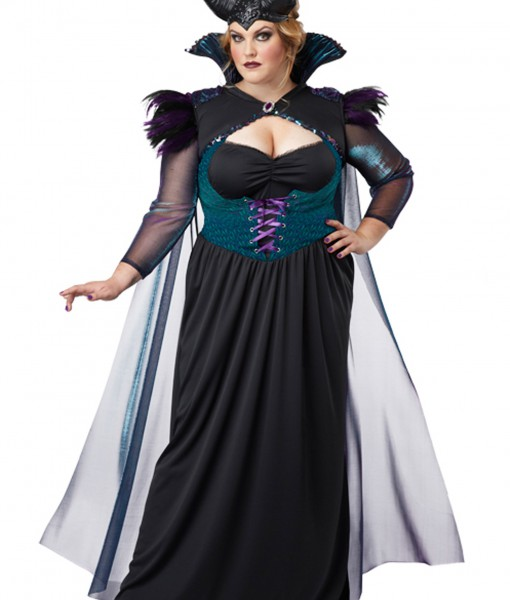 Sorceress Costume Plus Size Plus Size Storybook Sorceress