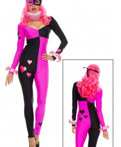 Women's Heart Striking Harley Costume