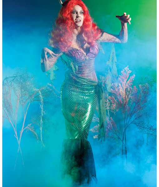 Mermaid Zombie Costume