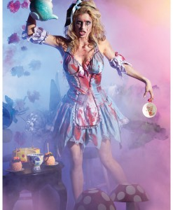 Looking Glass Zombie Alice Costume