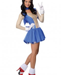 Adult Sonic Dress Costume