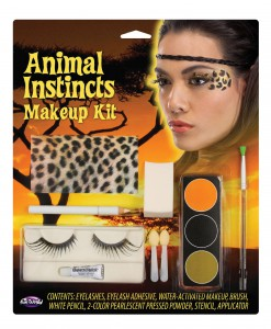 Leopard Animal Instincts Makeup Kit