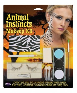 Zebra Animal Instincts Makeup Kit