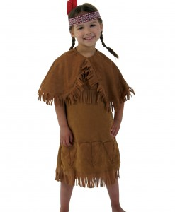 Girls American Indian Toddler Costume