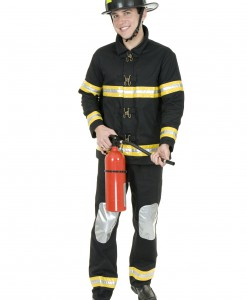 Plus Size Fireman Costume