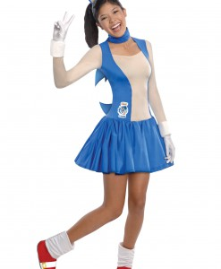 Teen Girls Sonic Dress Costume