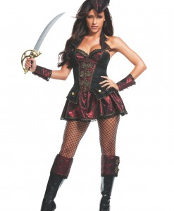 Women's Renegade Pirate Costume
