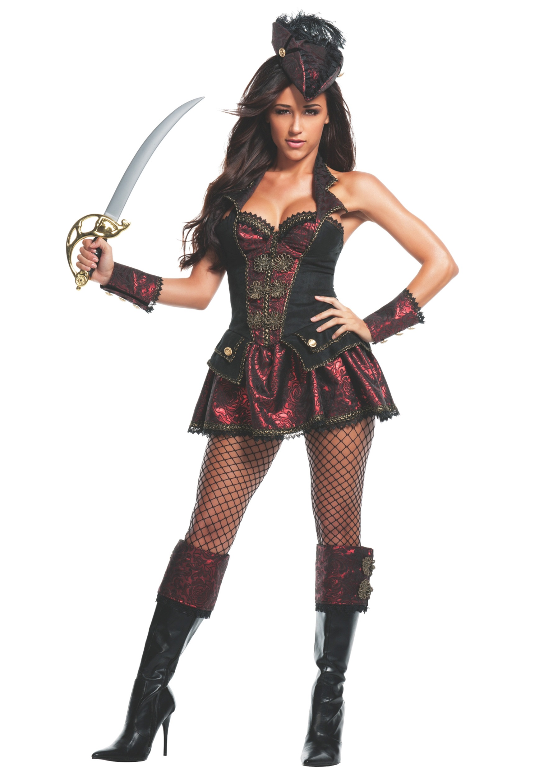 Women Renegade Pirate Costume Halloween Ideas