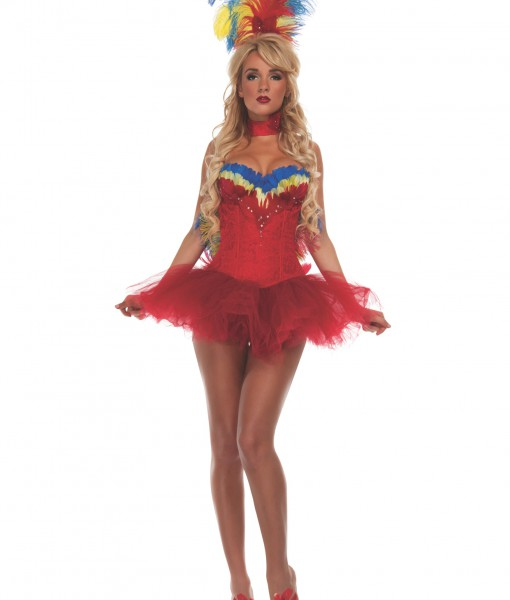Women's Macaw Costume