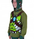 Kids Chima Cragger Croc Costume Hooded Sweatshirt