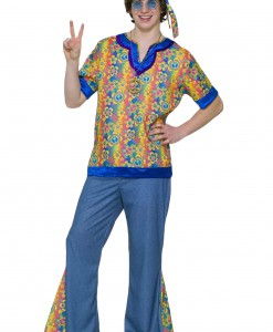 Teen 60s Hippie Costume