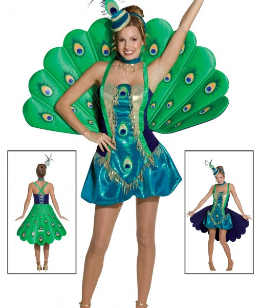 Womens Peacock Costume