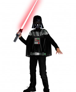 Kids Darth Vader Top and Mask