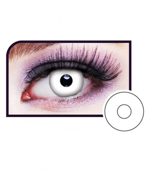 White Out Eye Contact Lenses