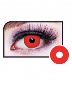 Red Vampire Eye Contact Lens