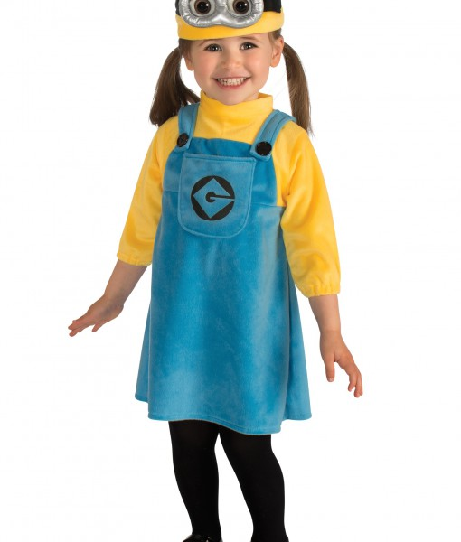 Halloween 2019 Costume Ideas Kids.Toddler Girls Minion Costume