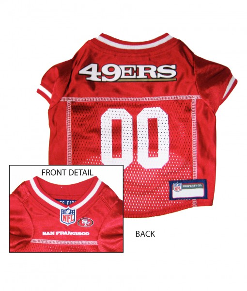 San Francisco 49ers Dog Mesh Jersey