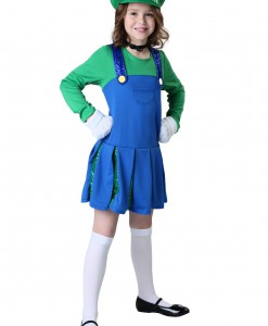 Girls Sidekick Louisa Costume
