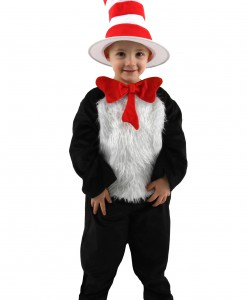 Deluxe Toddler Cat in the Hat Costume