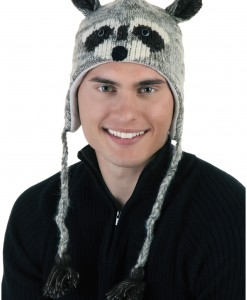 Adult Robbie the Raccoon Hat