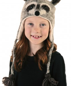 Kids Robbie the Raccoon Hat