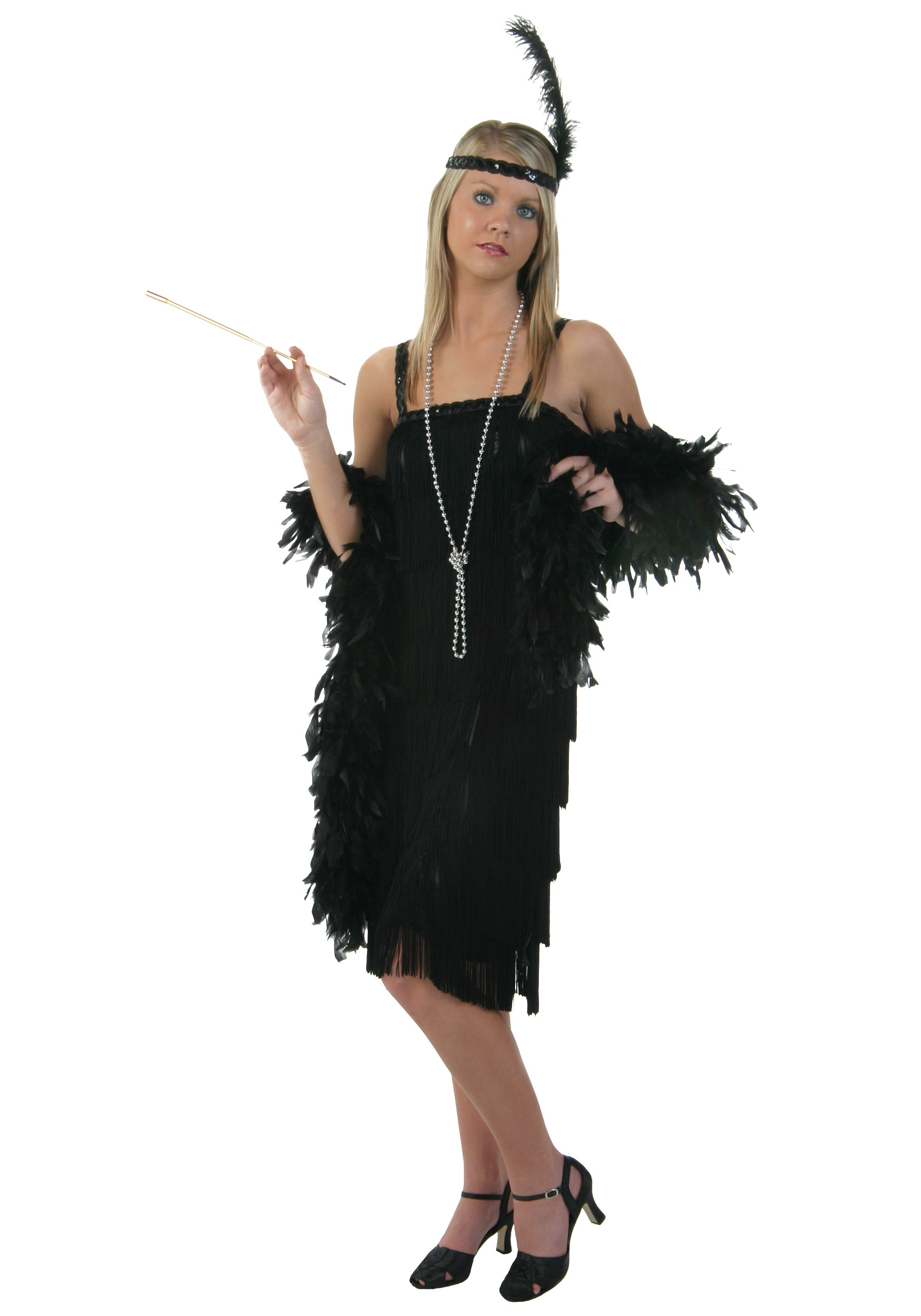 Black Charleston Flapper Dress  sc 1 st  Halloween Costumes & Black Charleston Flapper Dress - Halloween Costume Ideas 2016