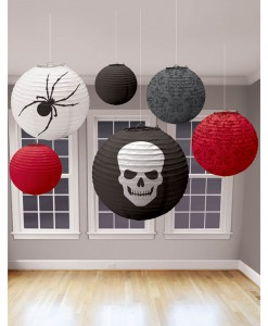 Halloween Skeleton Lanterns