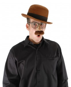 Bowler Brown Hat