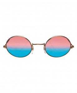 John Glasses Gold and Pink